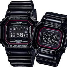 G-SHOCK & BABY-G 戀人對錶-鑰匙和鎖頭(SLV-18B-1D)/原廠公司貨/保固一年