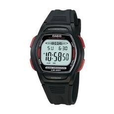 【CASIO 卡西歐】校園魅力經典電子錶-紅邊(LW-201-4A)