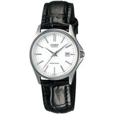 CASIO卡西歐 簡約復古風時尚皮革女錶-白(LTP-1183E-7A)