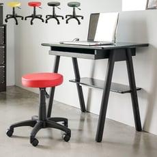 皮革旋轉圓椅/電腦椅/辦公椅/書桌椅/升降椅/4色/I0183