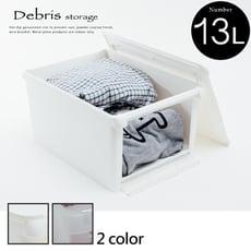 小屋子整理箱/置物箱/收納/塑膠櫃/收納櫃/衣櫃/收納箱/2色/R0115