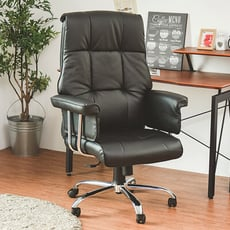 高質感皮革電腦椅/辦公椅/書桌椅/主管椅/電腦椅/台灣製/I0281