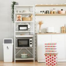 日系6層微波爐置物架/電器櫃/廚房收納/電器架/廚櫃/廚房架/3色/E0039