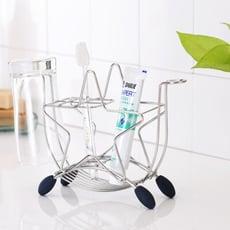 不鏽鋼MIT星星牙刷架/衛浴/牙刷/置物/牙膏/盥洗/E0001