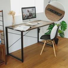 工業風鐵管電腦桌/高腳桌/書桌/辦公桌/工作桌/桌子/黑腳款/R0131