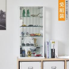 80cm強化玻璃展示櫃/加厚5mm/收納櫃/玻璃櫃/公仔櫃/2色/X0022