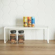 可堆疊伸縮置物平台架(小)/置物架/收納架/收納/瓶罐架/E0076