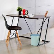 工業風Z字型電腦桌/書桌/辦公桌/化妝桌/J0084