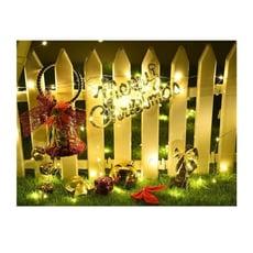 【八功能12米100燈太陽能款】太陽能庭院燈 聖誕燈裝飾裝小彩燈臥室婚慶房間庭院 景觀 露臺a