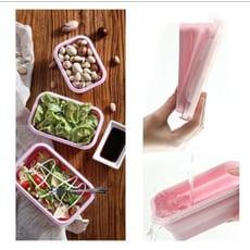 環保便攜可折疊微波餐盒