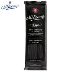 【Molisana】茉莉義大利墨魚麵500g(傳統石臼碾磨)