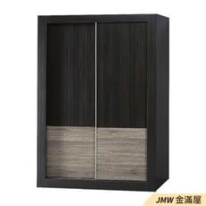 120cm衣櫃【金滿屋】防蛀木心板 推門衣櫃 滑門衣櫃-E192-2