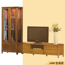 【金滿屋】76cm展示櫃 2.5尺實木收納櫃 客廳展示 公仔櫃 耐用櫃子 平價櫃 -B345-01