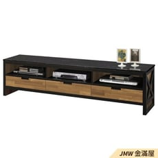 181cm電視櫃【金滿屋】木心板耐用電視櫃 電視櫃-B320-03