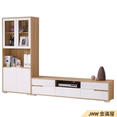 【金滿屋】80.5cm置物櫃 2.7尺展示櫃 木心板書櫃 收納櫃 白色整理櫃-B324-02