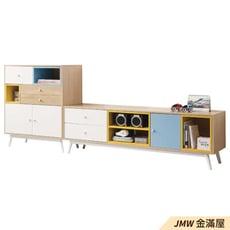【金滿屋】80cm置物櫃 2.7尺收納櫃 客廳整理 書房收納 高腳整理櫃 北歐白色 -B325-03