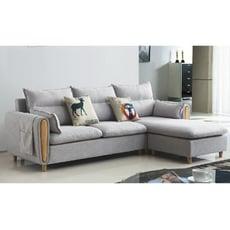 240cml型布沙發-e330-3 l型沙發 貓抓皮 布沙發 沙發床 沙發椅 【金滿屋】