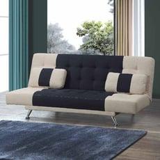 174cm布沙發床-e346-2 l型沙發 貓抓皮 布沙發 沙發床 沙發椅 【金滿屋】
