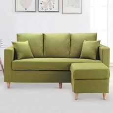 170cm多色l型布沙發-e314-7 l型沙發 貓抓皮 布沙發 沙發床 沙發椅 【金滿屋】