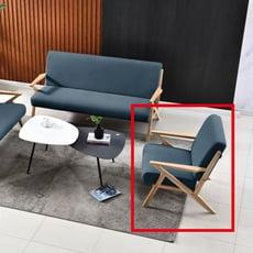 74cm單人座布沙發-a207-5 單人座 l型沙發 貓抓皮 布沙發 沙發床 沙發椅 【金滿屋】