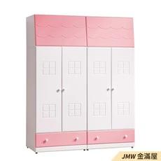 76cm衣櫃【金滿屋】自由搭配 木心板  開門衣櫃-C035-4
