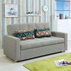 182cm多功能沙發床-c659-3 l型沙發 貓抓皮 布沙發 沙發床 沙發椅 【金滿屋】