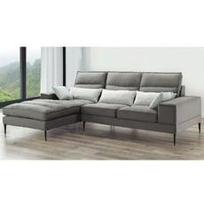 280cml型布沙發-e328-3 l型沙發 貓抓皮 布沙發 沙發床 沙發椅 【金滿屋】
