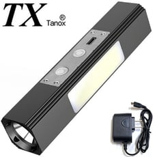 TX特林白+黃+COB三光源USB充電手電筒/工作燈(T-3XYW)