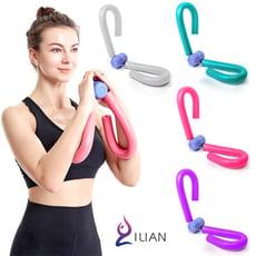 加厚手柄升級款 ILIAN 多功能健身美腿器 三角構造 曲線塑形鍛鍊 健身器 夾腿器 運動塑形好幫手