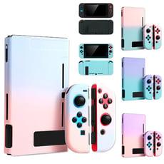 糖果繽紛多色 任天堂 Nintendo Switch 主機+手把保護殼 硬殼 分體式貼心設計 保護套
