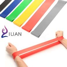 一組三入! ILIAN 彈力圈 運動彈力帶 力量訓練 瑜伽拉力帶 健身帶 (30磅+40磅+60磅)