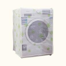 洗衣機防塵套 PEVA印花款滾筒式洗衣機罩 翻蓋式洗衣機套 保護套 防曬防水布套 防塵罩 上開 前開
