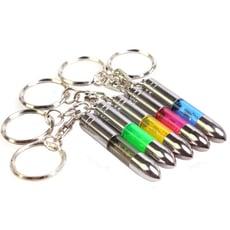 防靜電鑰匙扣  子彈頭造型除靜電器 汽車用除靜電鑰匙圈 靜電消除器 車門房門除靜電棒
