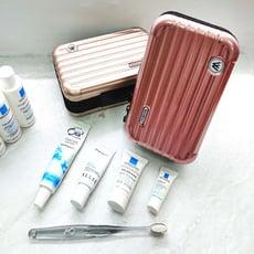 硬殼行李箱收納包 迷你行李箱化妝包