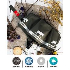 【TDN】馴鹿降溫13度黑膠自動開收傘晴雨傘(超撥水防風抗UV自動傘折傘B6658B)