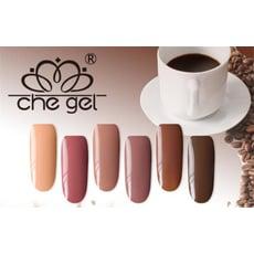 【CHE GEL奶茶色光撩指甲油CO】咖啡色 奶茶色 精選六色 光撩指甲油膠C2-28
