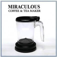 咖啡茶葉沖泡器-handybrew魔力沖泡壺 外銷版 (黑)
