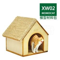 XW02迷你貓跳台模型材料包