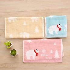 【星紅毛巾】蓬鬆系列 - 北極熊毛巾