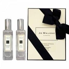 Jo Malone 香水禮盒(英國梨與小蒼蘭30ml+藍風鈴30ml)【UR8D】