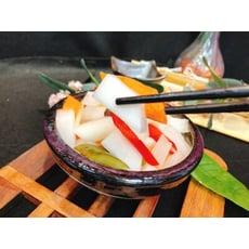 【海灞鮮物】廣式白玉梅子泡菜 600g±10%/盒 (固形物500g)
