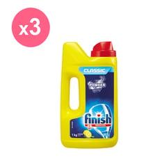 亮碟 洗碗機強力洗滌粉劑1kg x3瓶