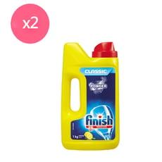 亮碟 洗碗機強力洗滌粉劑1kg x2瓶