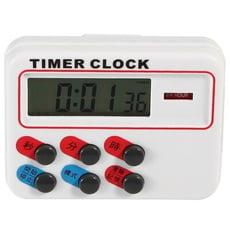 《省您錢購物網》全新~磁鐵吸附式 多功能正倒數計時器