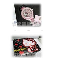 《省您錢購物網》全新~Hello Kitty經典粉紅陶瓷錶正版