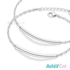 AchiCat 情侶手鍊 925純銀 一心為你 對手鍊 單個價格 情人節禮物 HS8025