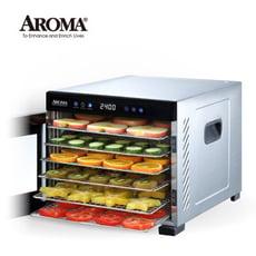 【強勢升級款】美國 AROMA 紫外線全金屬六層乾果機 食物乾燥機 果乾機 AFD-965SDU