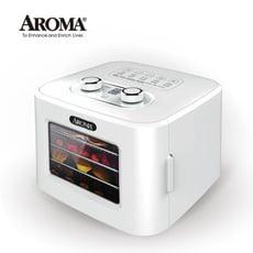 【美國 AROMA】四層溫控乾果機 果乾機 食物乾燥機 烘乾機 贈彩色食譜 AFD-310