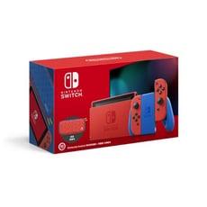 【免卡分期】任天堂 Nintendo Switch 瑪利歐亮麗紅x亮麗藍 主機組合(台灣公司貨)