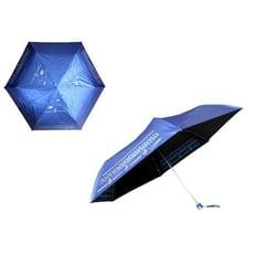 【鋼筆傘 手開色膠布三折傘】雙面印刷.超極輕只有160g防風 抗UV 晴雨傘